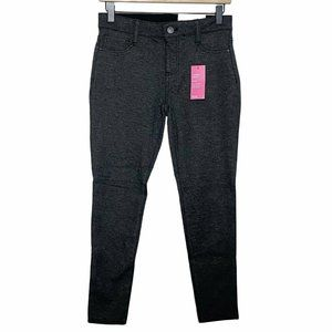 a.n.a Charcoal Gray Comfort Skinny Mid Rise Pants